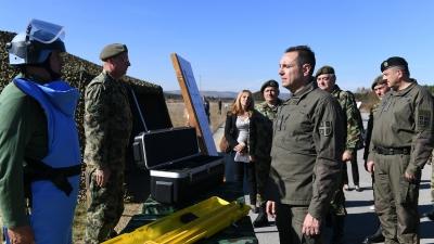 """Obilazak vojnog aerodroma """"Dubinje"""""""