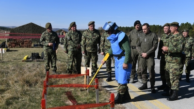 """A Visit to the """"Dubinje"""" Military Airport"""