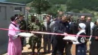 Министар одбране и начелник Генералштаба Војске Србије у Новом Пазару