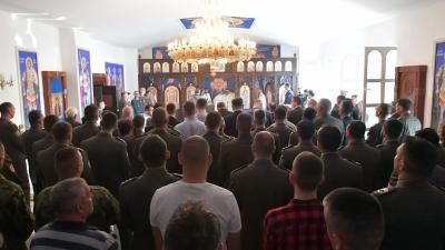 Osvećenje bogoslužbenog prostora u Gardi