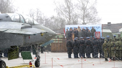 Свечаност поводом Дана 98. ваздухопловне бригаде: обраћање пуковника Васиљевића