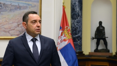 Обраћање министра Вулина на пријему чланова војних репрезентација Србије у џудоу и маратону