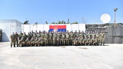 Посета министра одбране Александра Вулина мировњцима на југу Либану