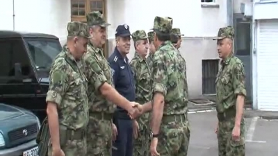 General Diković visited the joint police and military forces