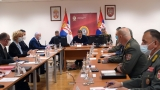 Supreme Commander and President of the Republic Meets with Minister of Defence and Chief of General Staff's Collegiums