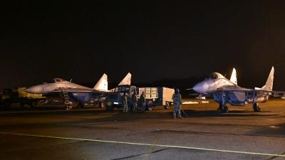 Обилазак дежурне јединице ловачке авијације на Батајници
