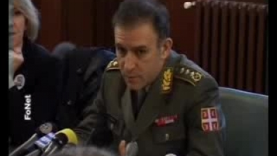 Obraćanje NGŠ VS gppk Zdravka Ponoša Odboru za odbranu i bezbednost Skupštine Srbije