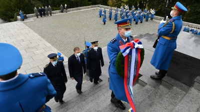 Wreath-laying Ceremony on Mt Avala