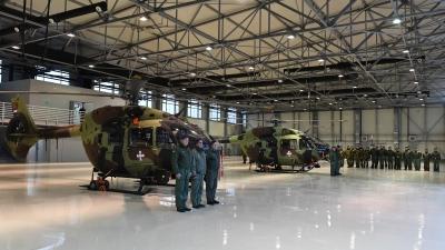Нови хангар за нове летелице српског ратног ваздухопловства