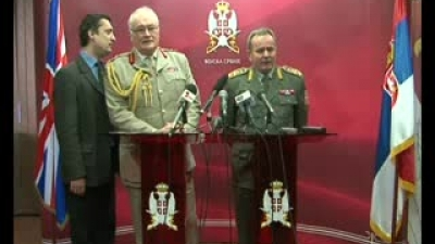 General Peter Wall visited Serbia
