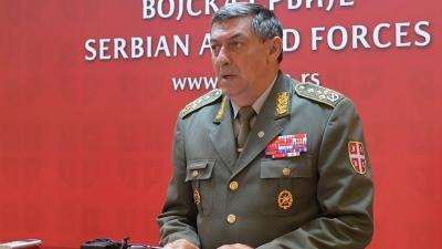 Генерал Диковић о посети команданта Националне гарде Кипра