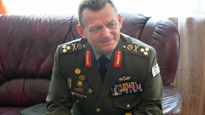 Командант Националне гарде Кипра генерал-потпуковник Илијас Леонтарис