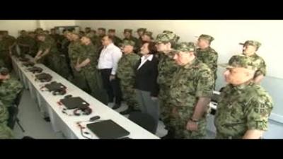 """Dvostrana taktička vežba na poligonu """"Borovac"""""""
