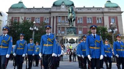 Егзерцир Гарде на Тргу републике поводом Дана Војске Србије