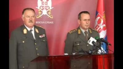 Посета НГШ ОС Аустрије генерала Едмунда Ентахера Војсци Србије