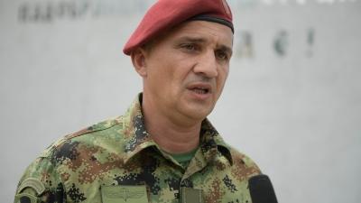 Commander, Special Brigade, Brigadier General Miroslav Talijan