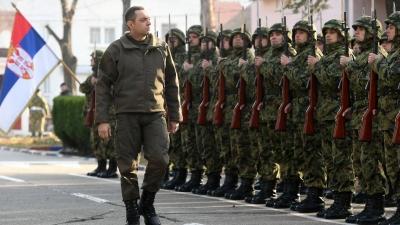 Mинистар Вулин и генерал Мојсиловић обишли Центар за обуку КоВ: изјава министра Вулина