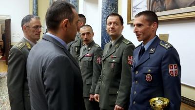 Потпуковник Ненад Милосављевић из Управе за обуку и доктрину