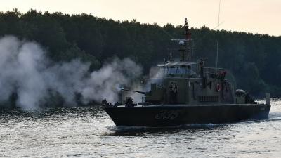 Vežba Rečne flotile na Tisi Vidra 2018