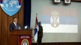 Send-off ceremony for the contingent of the Serbian Armed Forces to the UN Mission in Central African Republic