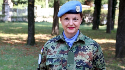 Главна медицинска сестра српске Војне болнице Драгана Барбуловић
