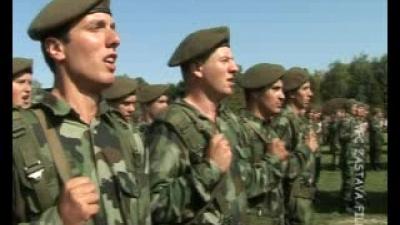 Свечана заклетва војника септембарске класе