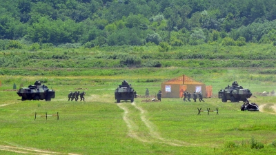 Counterterrorist Exercise of the Army Military Police Units