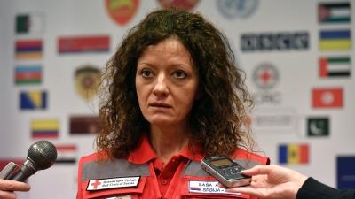 Представник Црвеног крста Србије Саша Аврам