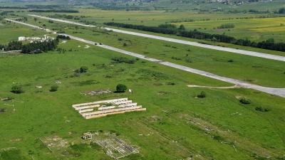 Početak raščišćavanja aerodroma Sjenica