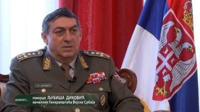 General Diković: Imaćemo jaku vojsku — RTS Dozvolite