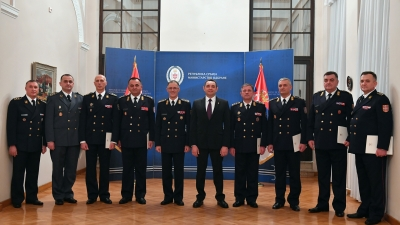 Цеременија уручења Указа о новим постављењима у Војсци Србије