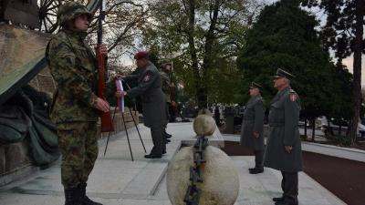 Полагање венаца поводом Дана војних ветерана