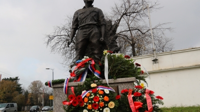 Wreath-laying ceremony at the Monument to the National Hero Milan Tepić