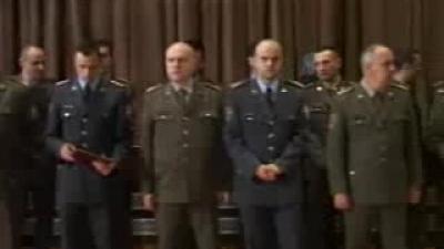 Примопредаја дужности команданта Друге бригаде