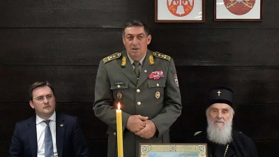 Obraćanje generala Dikovića