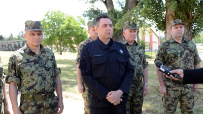 Izjava ministra Vulina nakon obilaska kasarne Knjaz Mihailo