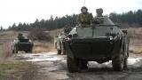 Обилазак обуке и гађања из оклопно-извиђачких аутомобила БРДМ - 2МС