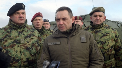 Minister of Defence Aleksandar Vulin