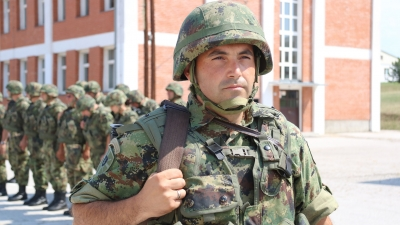 Sergeant Major Miloš Veličković