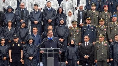 Zajednički udar 2018, obraćanje predsednika Vučića