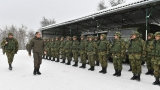 Minister Vulin and General Mojsilović Spent Christmas with the SAF Members in the Vrapce Base