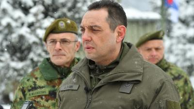 Честитка министра Вулина упућена православним верницима поводом Божића на бази