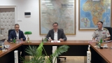 Посета врховног команданта и председника Републике Генералштабу Војске Србије