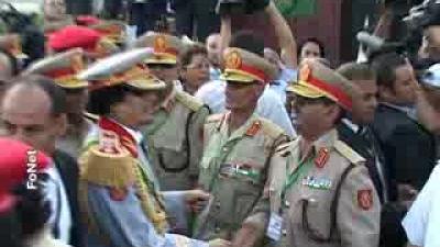 Pripadnici Vojske Srbije na paradi u Tripoliju