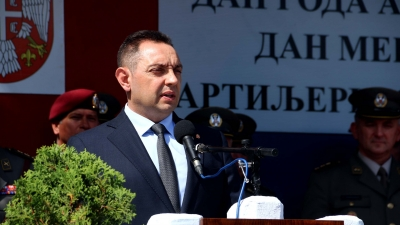 Obraćanje ministra Aleksandra Vulina