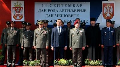 Obraćanje pukovnika Novice Petrovića