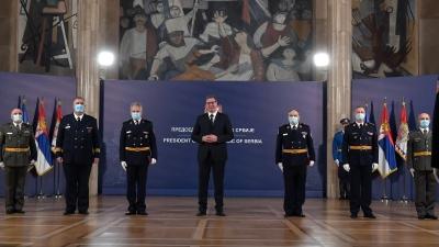 Церемонија уручења одликовања председника Републике