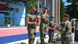 Плакете за најбоље на првом међународном такмичењу војних возача