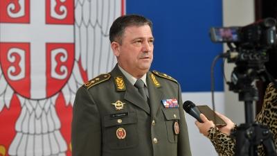 Ратни командант 63. падобранске бригаде генерал-мајор Илија Тодоров