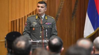 Командант Специјалне бригаде бригадни генерал Мирослав Талијан